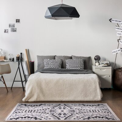 Lyncrest Gray Area Rug
