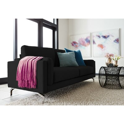 Remi Sofa Upholstery : Black