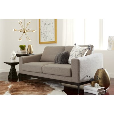 Olivia Loveseat Upholstery : Cream
