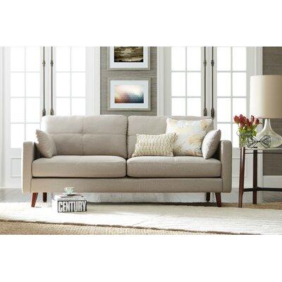 Alix Sofa Upholstery: Ivory