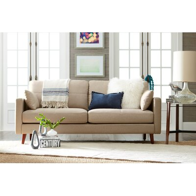 Alix Sofa Upholstery: Taupe