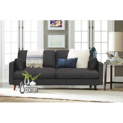 Alix Sofa Upholstery: Charcoal