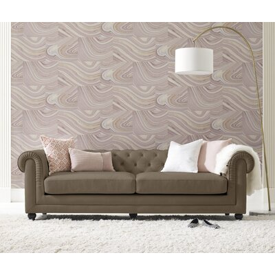 Amery Tufted Chesterfield Sofa Upholstery: Taupe