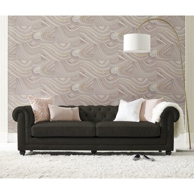 Amery Tufted Chesterfield Sofa Upholstery: Gray