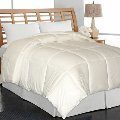 All Season Down Alternative Comforter Size: Twin