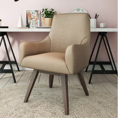 Paige Home Armchair Upholstery: Pink