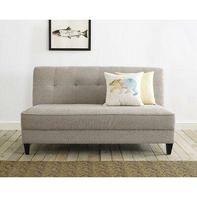 Yvonne Standard Sofa Upholstery: Ivory