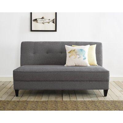 Yvonne Standard Sofa Upholstery: Gray