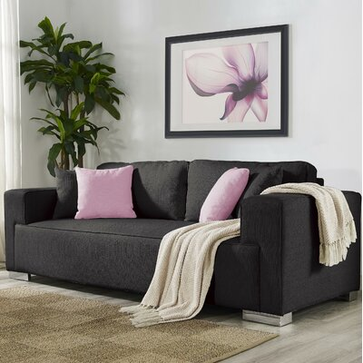 Tace Standard Sofa Upholstery: Dark Gray