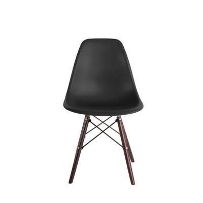 Renee Dining Chair Color: Noir Black