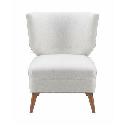 Amelie Slipper Chair Upholstery: Catalina Ivory