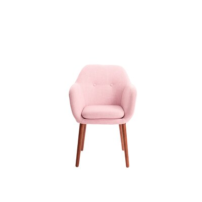 Roux Arm Chair Upholstery: Blush