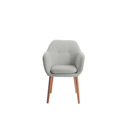 Roux Arm Chair Upholstery: Gray