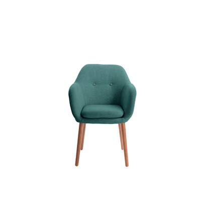 Roux Arm Chair Upholstery: Turquoise