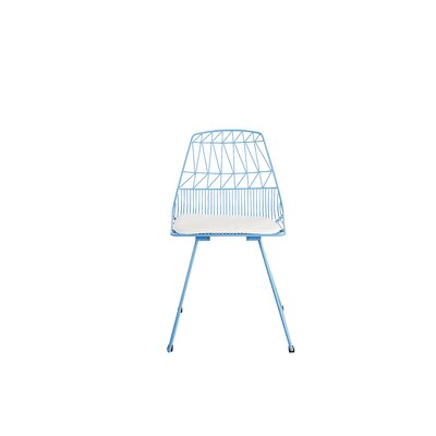 Vivi Metal Dining Chair Color: Turquoise