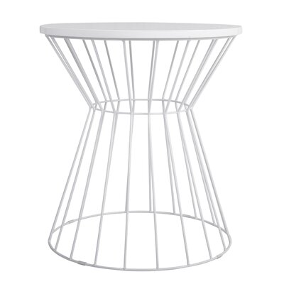Lulu Bent Metal End Table