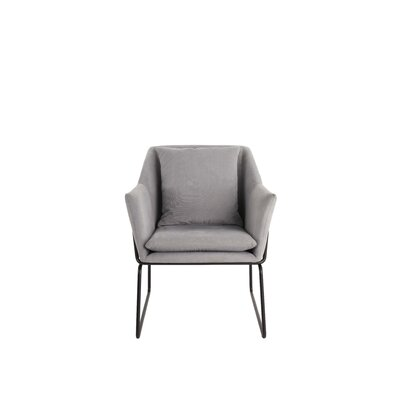 Odile Armchair Color: Gray