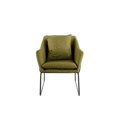 Odile Armchair Color: Pistachio