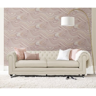 Amery Tufted Chesterfield Sofa Upholstery: Ivory
