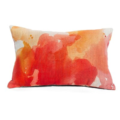 Submerge Lumbar Pillow Color: Orange