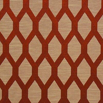 Sinatra Fabric Color: Ruby