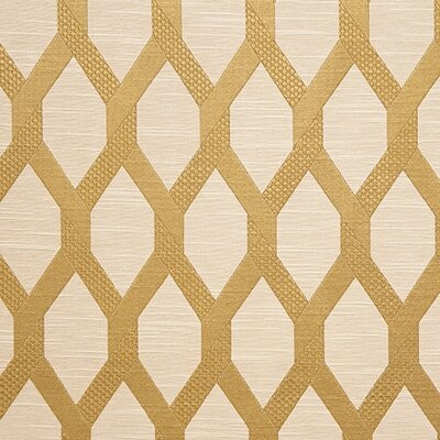 Sinatra Fabric Color: Gold