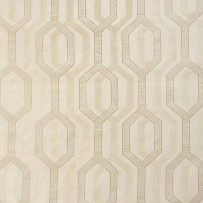 Castaway Polyester Fabric Color: Champagne