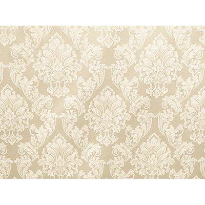 Waldorf Brown Fabric Upholstery: Cream
