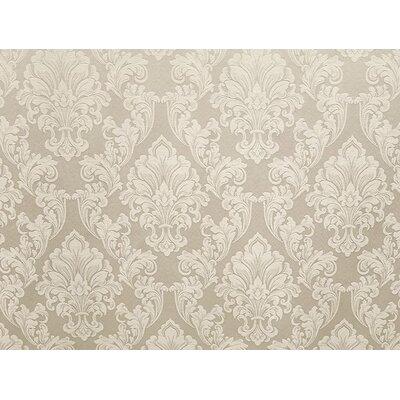 Waldorf Brown Fabric Upholstery: Eggshell