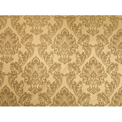 Waldorf Brown Fabric Upholstery: Gold