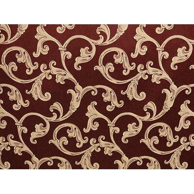 Waldorf Fabric Upholstery: Wine