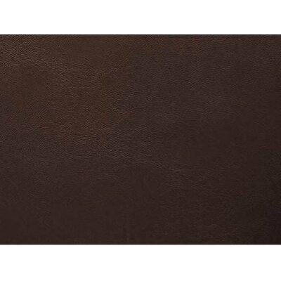 Arlind Vinyl Polyester Upholstery: Brown