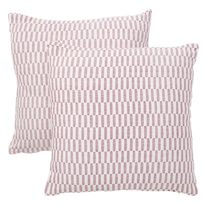 Walter Cotton Throw Pillow Size: 18