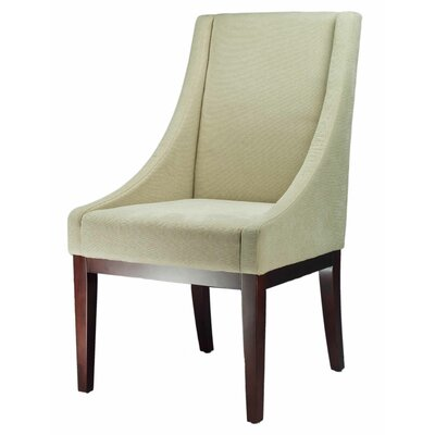 Sloping Arm Chair Upholstery: Cream Linen