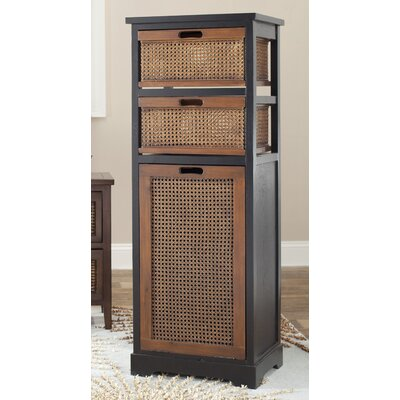 Ellen 3 Drawer Storage Unit Color: Dark Brown