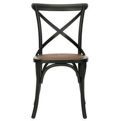 Logan X Side Chair Finish: Hickory