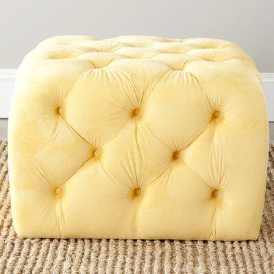Jonathan Ottoman Upholstery: Sunflower Yellow