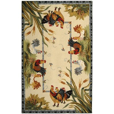 Isabella HK56A Country Rug Rug Size: 53 x 83