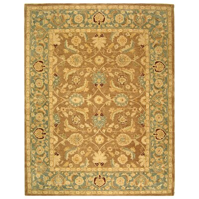 Anatolia Hand-Tufted Yellow/Green Area Rug Rug Size: Rectangle 2 x 3