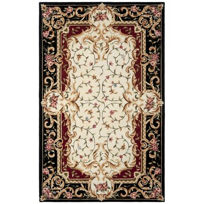 Naples Ivory Area Rug Rug Size: Rectangle 6 x 9