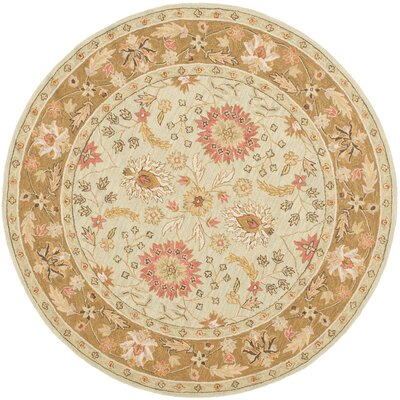 Chelsea Floral Rug Rug Size: Round 5'6 image