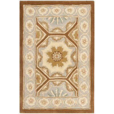 Naples Ivory Area Rug Rug Size: 26 x 46