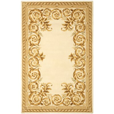 Naples Green/Brown Area Rug Rug Size: 5 x 8