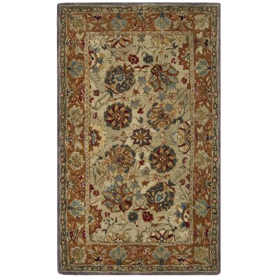 Anatolia Brown Area Rug Rug Size: Rectangle 3 x 5