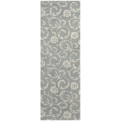 Soho Light Blue/Silver Area Rug Rug Size: Runner 26 x 8