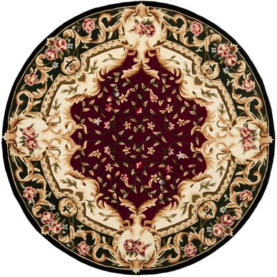 Naples Area Rug Rug Size: Round 6