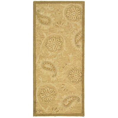 Berkeley Light Brown Area Rug Rug Size: Runner 2'6
