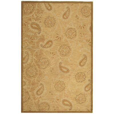 Berkeley Light Brown Area Rug Rug Size: 5'3