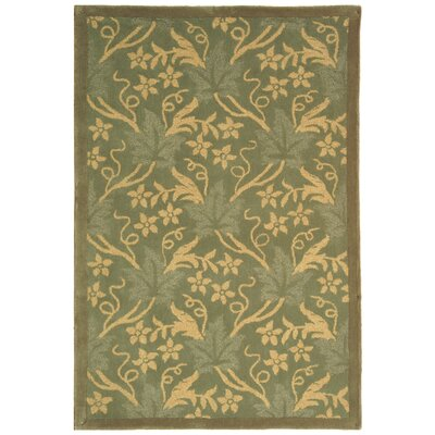 Berkeley Blue Vines Area Rug Rug Size: Rectangle 53 x 83