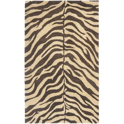 Bergama Beige/Brown Area Rug Rug Size: Rectangle 3 x 5